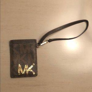 Michael Kors ID wristlet